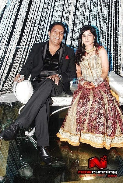 Hyderabadi Fashion Prakash Raj And Pony Verma 39 S Reception Style