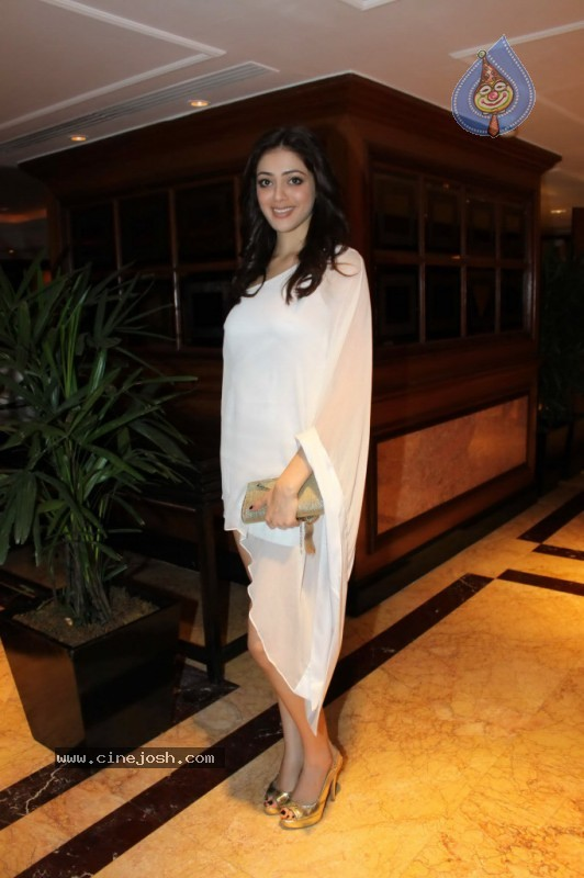Parvati Melton looked good in the white designer dress at the Blenders Pride