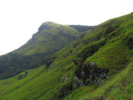 Kudremukh peak from a distance-2009