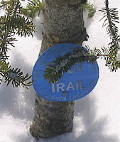 puffer pond trail marker