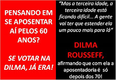 Aposentados contra Dilma