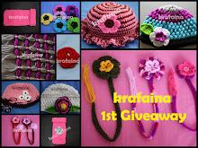 krafaina 1st Giveaway