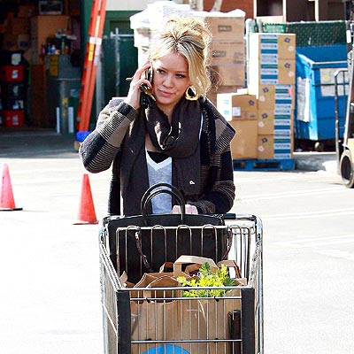 hilary duff skinny. Hilary Duff