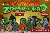 Flaming Zombooka 2 walkthrough | video