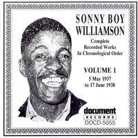 Sonny Boy Williamson I - Complete Recorded Works in Chronological Order - Volume 1