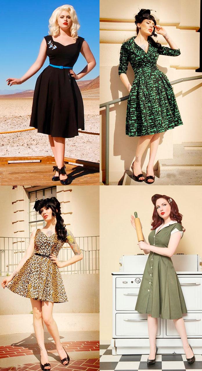 Vestidinhos anos 50!!!!!