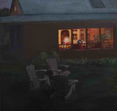 """Moonlight Chairs"" a la Hopper"