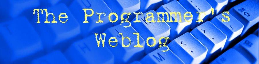 The Programmer's Weblog