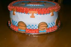 Lady Vols Cake