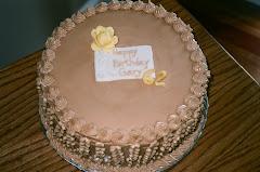 Chocolate Cake with Caramel Icing