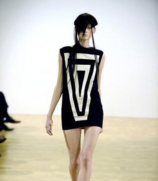 Piece from Romina Karamanea's SS10 collection