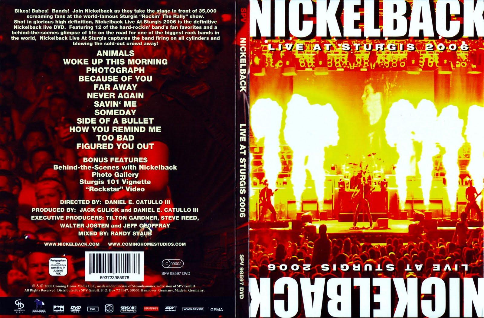 Nickelback: Live At Sturgis Nickelback%2B-%2BLive%2BAt%2BSturgis%2B2006