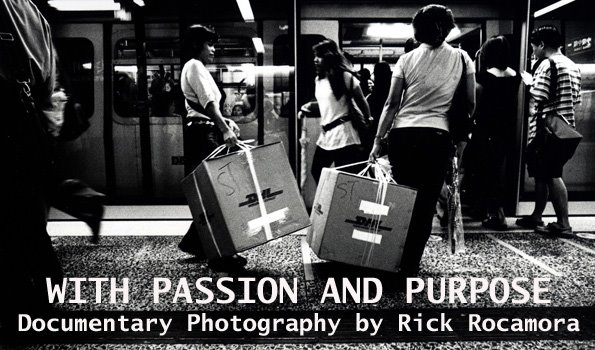 WITH PASSION AND PURPOSE DOCUMENTARY PHOTOGRAPHY by RICK ROCAMORA