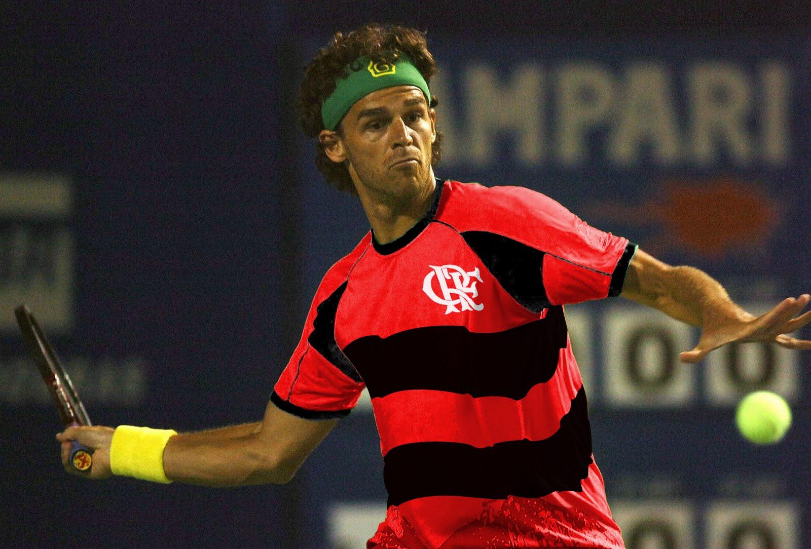 Flamengo Eternamente Gustavo Kuerten é Flamengo