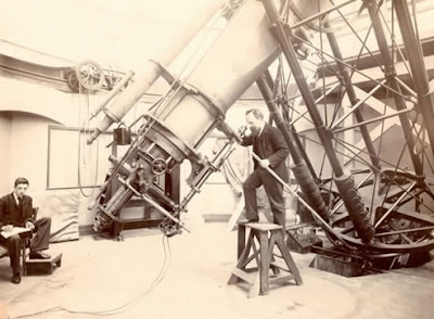 B5698 28-inch telescope at Royal Observatory Greenwich, c. 1894 © NMM