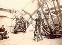 B5698D 28-inch telescope at the Royal Observatory Greenwich c.1894 © NMM