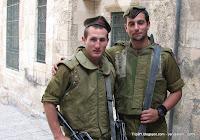 солдаты Израильской армии, Иерусалим, (c) http://TripBY.blogspot.com