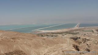 Мертвое море, южная часть, TripBY, полосы