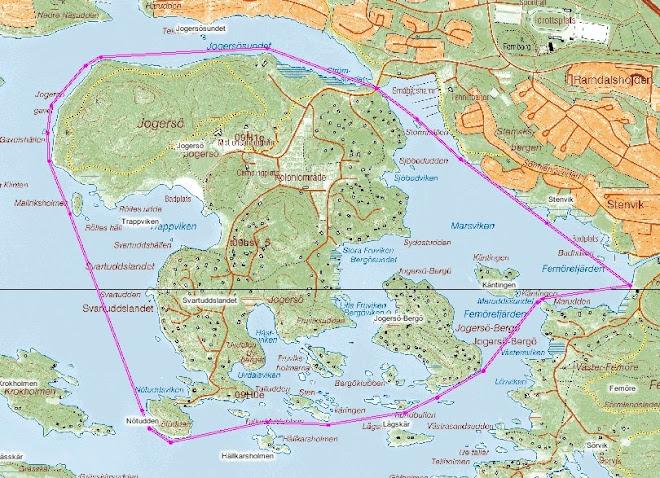 Jogersö Runt 7.200 meter - dags för några turer på tid?