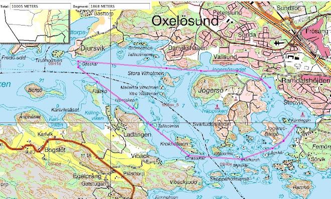 10 km runda till Nätrace 09