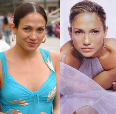 Jennifer Lopez  on Steal Their Style  Celebs Without Make Up   Jennifer Lopez