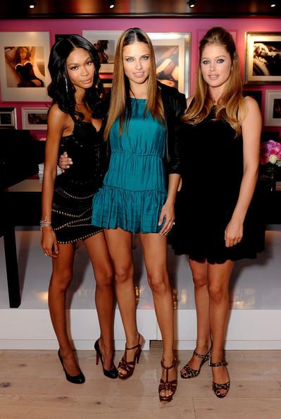 Adriana Lima, Chanel Iman, Doutzen Kroes Victoria's Secret Bombshells...