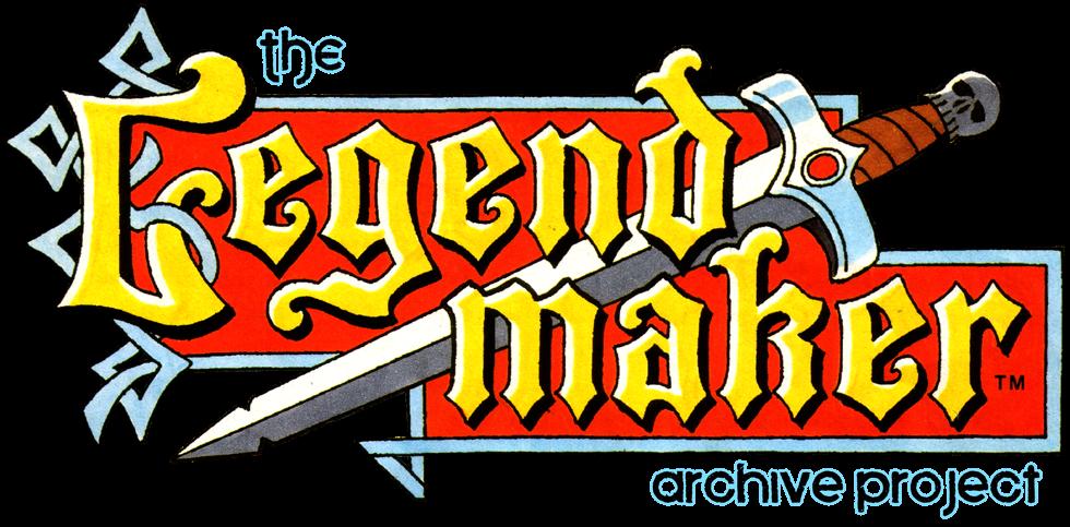 <center>The Legendmaker Archive Project</center>