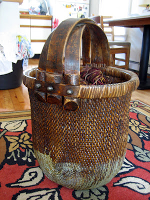 antique Japanese basket