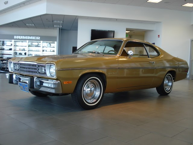 American Muscle 1973 Plymouth Gold Duster