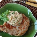 Grenadins de Veau au Coulis de Celeri-Rave (Veal with Celery Root Cream Sauce)