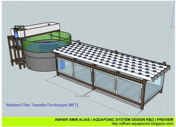 Affnan S Aquaponics Conceptual 3d Rendering Of Aquaponics