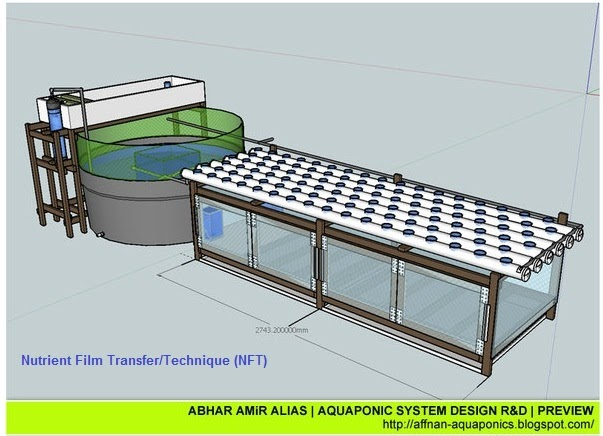 How to make aquaponics grow bed waters sistem for Feed and grow fish free no download