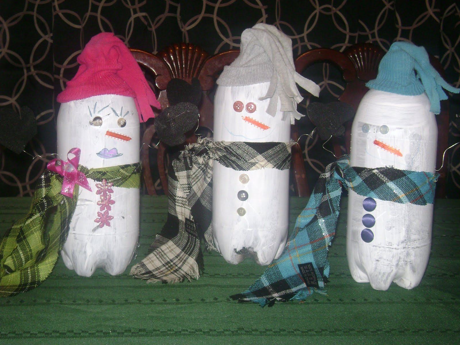 ... AND THEN SOME...: One second 2 liter bottles.. the next SNOWMEN