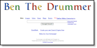 Ben The Drummer's Personal Search Engine