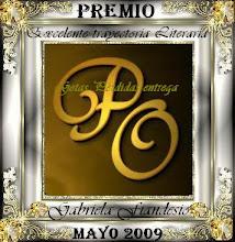 Premio otorgado por Palmira