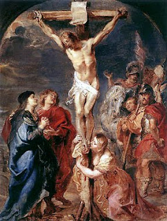 Crucifixion of Jesus Christ on the cross art photo and women crying at Jesus feet free download religious pictures