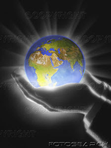 Jesus Hands Holding The Globe And Saving Earth Photo Download Free