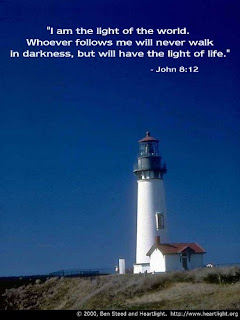 I am the Light of the world bible verse John 8:12 verse of Jesus Christ
