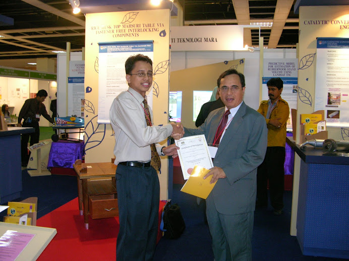 ITEX 2005, as a member of research group. We won bronze medal!