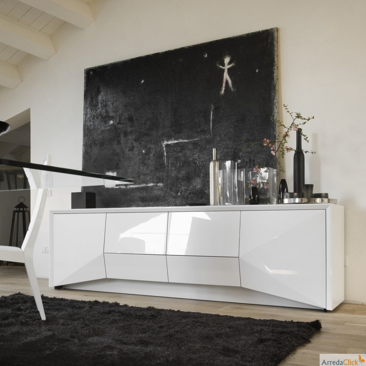 arredaclick mobilier italien buffets et bahuts design. Black Bedroom Furniture Sets. Home Design Ideas