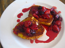 French Toast & Berry Compote