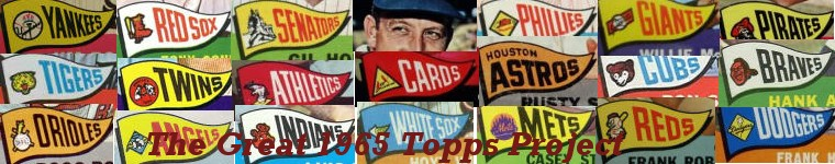 The Great 1965 Topps Project