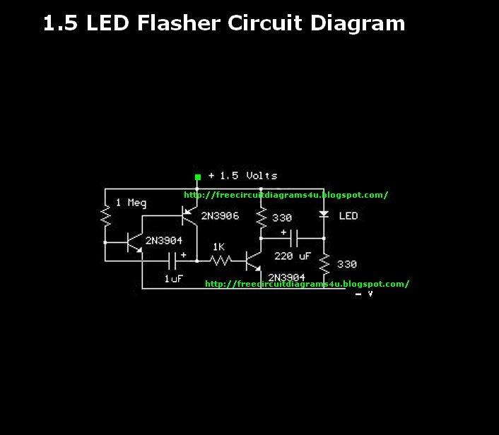 Identify Diagram  1 5v Led Flasher Circuit Diagram