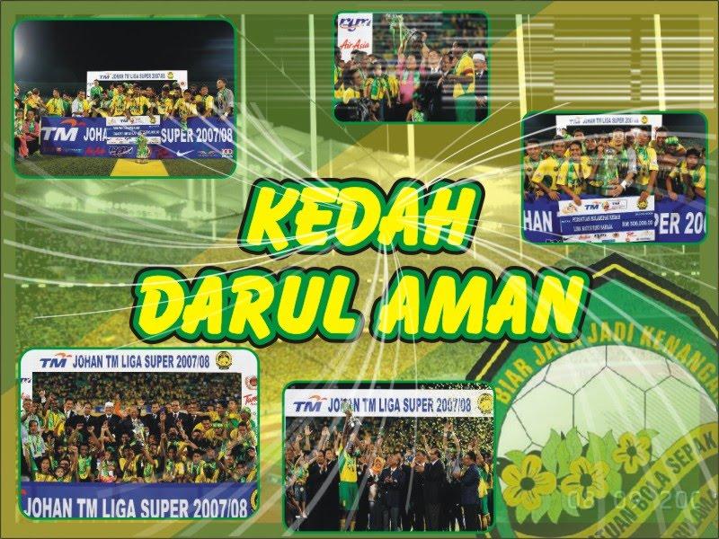 Juara double treble bola sepak malaysia sumber informasi for Home wallpaper kedah