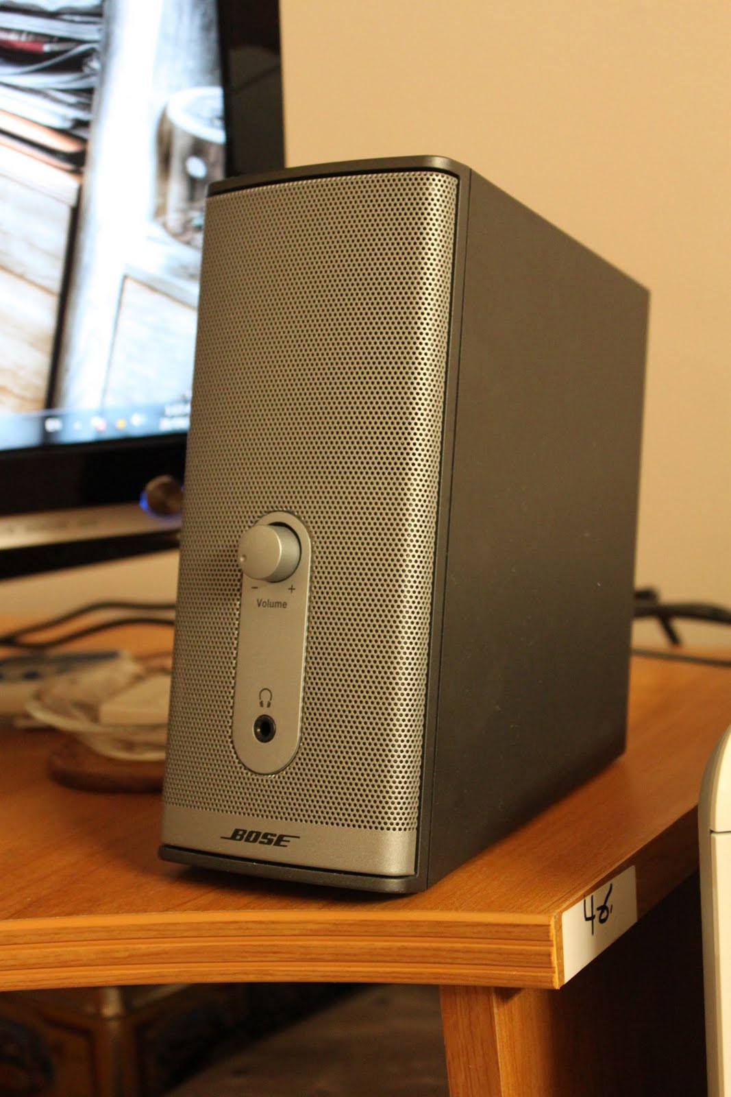 my pc and equipment sound system bose companion 2 series ii. Black Bedroom Furniture Sets. Home Design Ideas