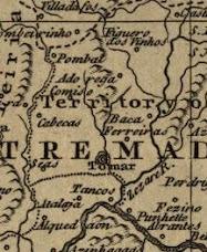 Mapa do reino 1760