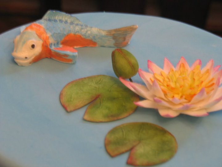 Decorate the cake fishy fishy take two for Koi fish mold