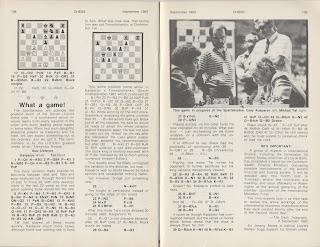 Garry Kasparov vs Mikhail Tal, Spartakiade 1983