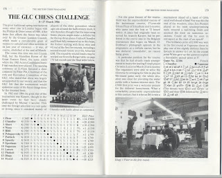 Glenn Flear, GLC Chess Challenge