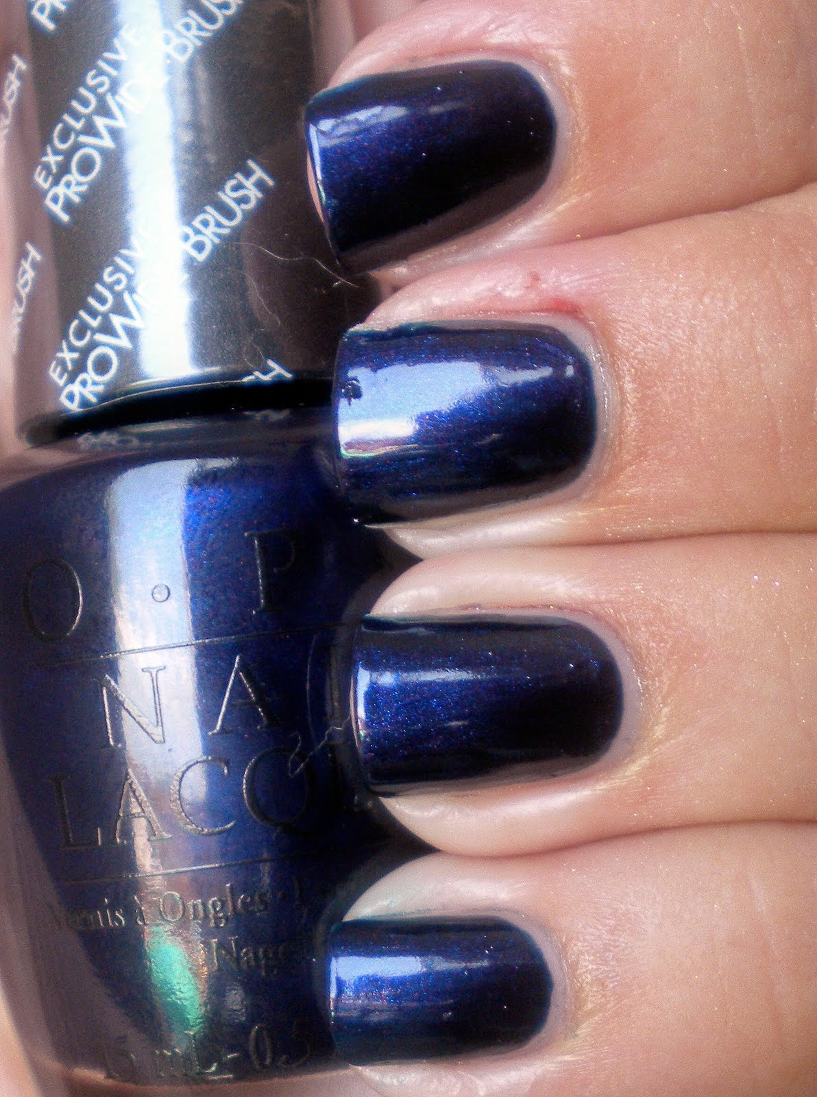 Russian Navy Was Released In Fall Winter 2007 The Collection It S A Very Dark Blue But With Tiny Pink Purple Shimmer